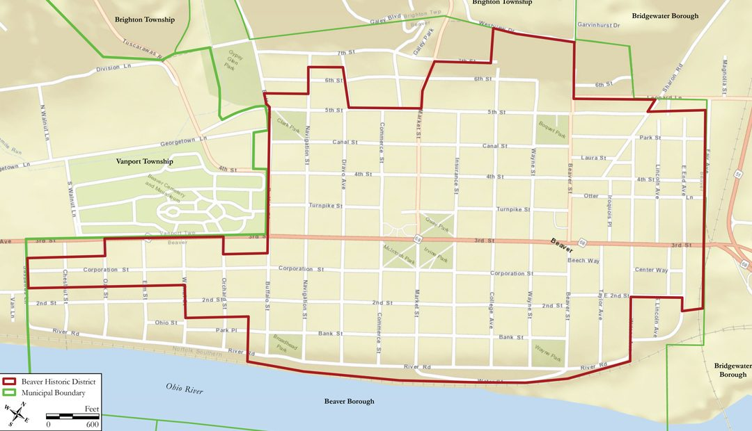A Chronology of Beaver's Historic District