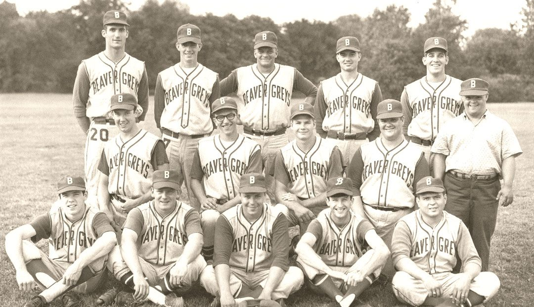 Beaver's First Baseball Team