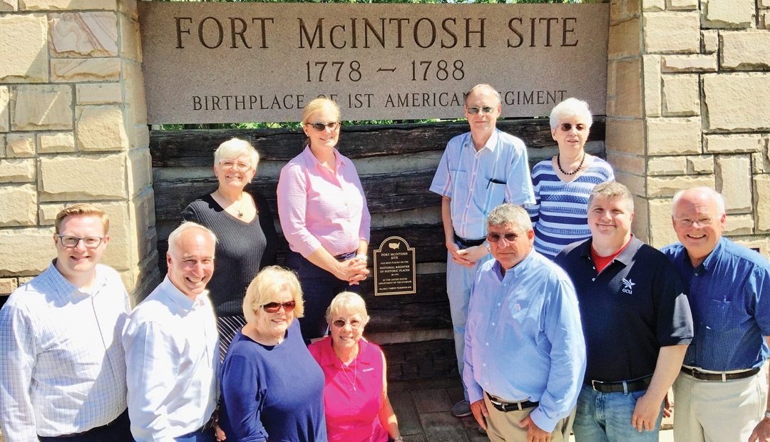National Historic Register  Plaque Commemorates Beaver's Fort McIntosh Site