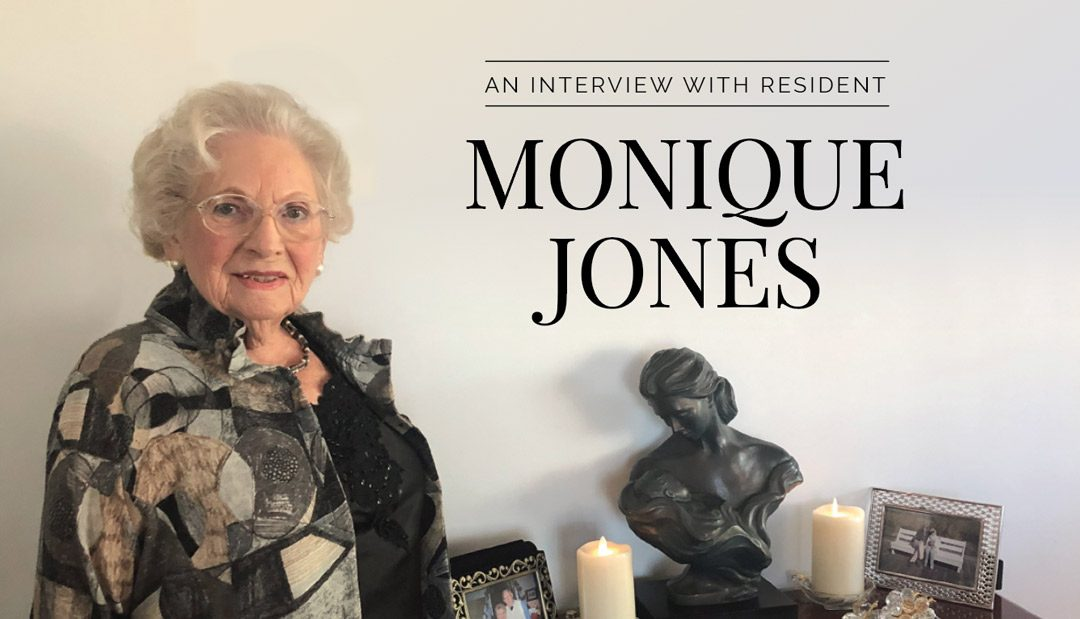 An Interview with Resident Monique Jones