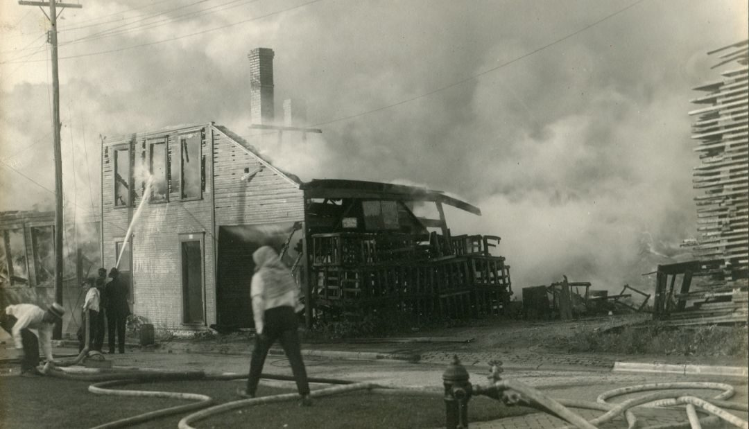 Cook-Anderson Fire, July 4, 1920